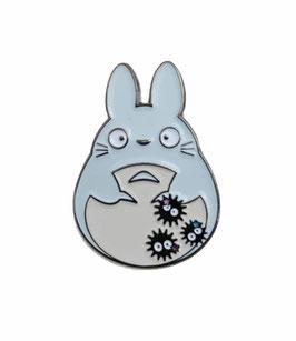 "Pin's émaillé ""Totoro bleu ciel"""