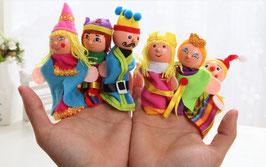 """Marionnettes à doigts """"Famille royale"""""""