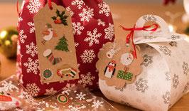 Mini stickers de Noël