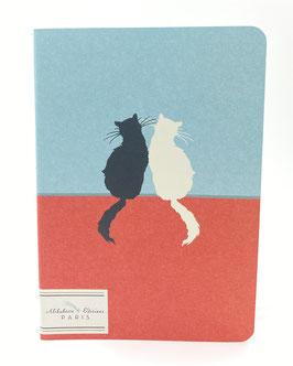 """Mini-cahier """"Yin et Yang"""" Alibabette Paris"""