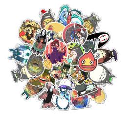"50 stickers ""Totoro"""