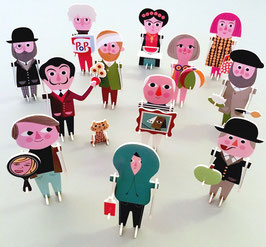 La parade des artistes 3D
