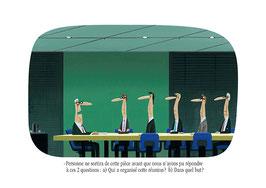 Qui a organisé cette réunion ?