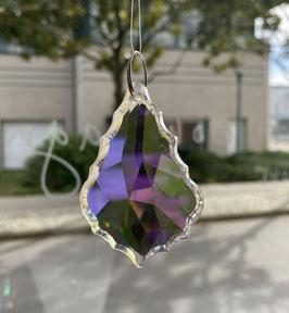 Attrape-soleil pendeloque baroque en cristal
