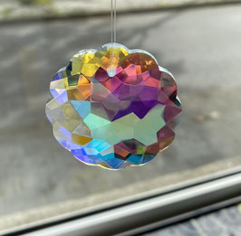 Attrape-soleil marguerite en cristal
