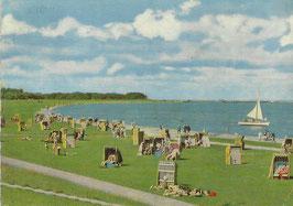 Ansichtskarte - Cuxhaven - Grimmershörnbucht