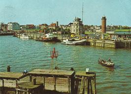 Ansichtskarte - Cuxhaven - Hafen und Stadt