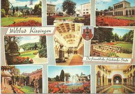 Ansichtskarte - Bayern - Bad Kissingen