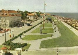 Ansichtskarte - Cuxhaven - Duhnen Strandpromenade