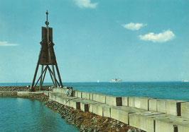 Ansichtskarte - Cuxhaven - Kugelbake