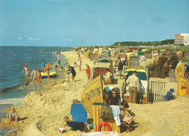 Ansichtskarte - Cuxhaven - Sahlenburg Strand