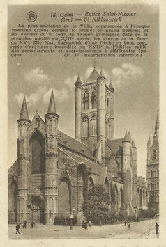 Ansichtskarte - Belgien - Gent