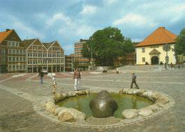 Ansichtskarte - Stade - Pferdemarkt