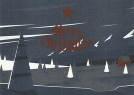 Ansichtskarte - Merry Christmas