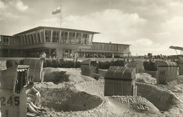 Ansichtskarte - Cuxhaven -Strandhaus Döse