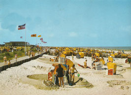 Ansichtskarte - Cuxhaven - Döse Strand