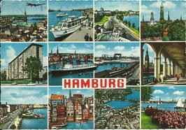 Ansichtskarte - Hamburg