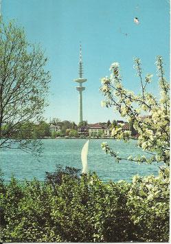 Ansichtskarte - Hamburg Fernsehturm