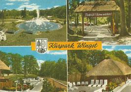 Ansichtskarte - Wingst - Kurpark