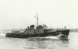 Ansichtskarte - Zollboot Steubenhöft