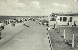 Ansichtskarte - Döse - Strandgaststätte Fahrenbach