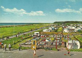 Ansichtskarte - Cuxhaven - Sahlenburg - Campingplatz