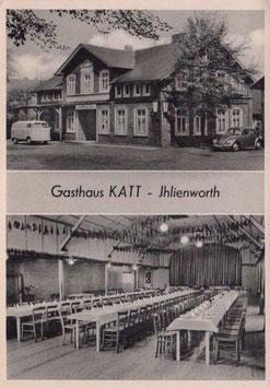 Ansichtskarte - Ihlienworth - Gasthaus Katt