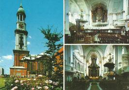 Ansichtskarte - Hamburg Michaeliskirche