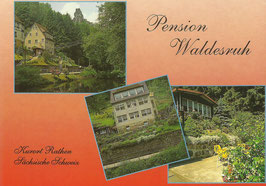 Ansichtskarte - Pension Waldesruh Rathen