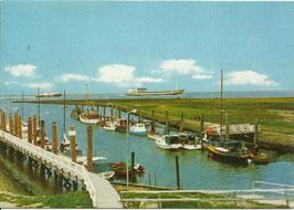 Ansichtskarte - Altenbruch - Hafen