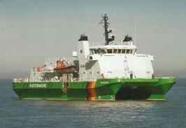 Ansichtskarte - Zollboot - Helgoland