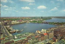 Ansichtskarte - Hamburg Alster