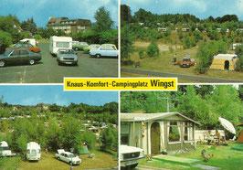 Ansichtskarte - Wingst - Camingplatz