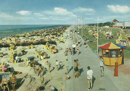 Ansichtskarte - Cuxhaven - Duhnen Strand