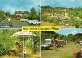 Ansichtskarte - Wingst - Campingplatz