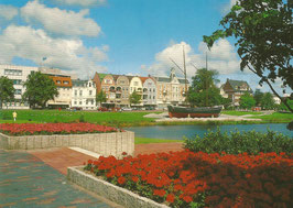 Ansichtskarte - Cuxhaven - Schleusenpriel