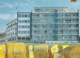 Ansichtskarte - Cuxhaven - Strandhotel-Duhnen