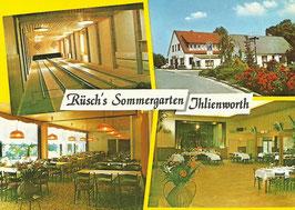 Ansichtskarte - Ihlienworth - Rüsch Sommergarten