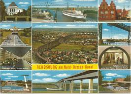 Ansichtskarte - Rendsburg am Nord-Ostsee-Kanal