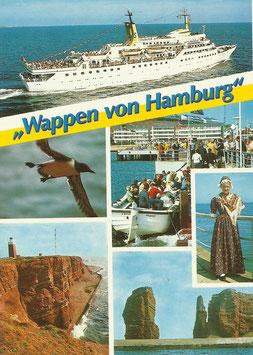 Ansichtskarte - Wappen von Hamburg