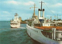 Ansichtskarte - Cuxhaven - Seebäderschiffe