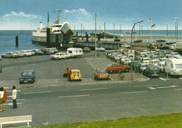 Ansichtskarte - Fährhafen