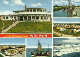 Ansichtskarte - Nordseebad - Wremen