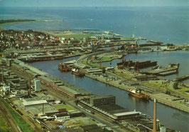 Ansichtskarte - Neuer Fischereihafen