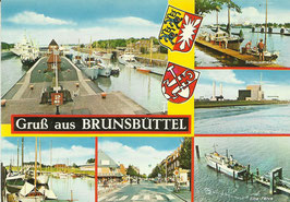 Ansichtskarte - Gruß aus Brunsbüttel