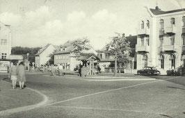 Ansichtskarte - Duhnen - Dorfbrunnen
