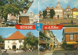 Ansichtskarte - Stade - Elbe