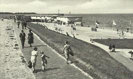 Ansichtskarte - Cuxhaven - Seebadeanstalt - Seeterassen