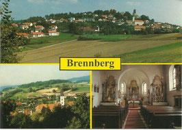 Ansichtskarte - Bayern - Ferienort Brennberg