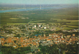 Ansichtskarte - Stade - Luftaufnahme